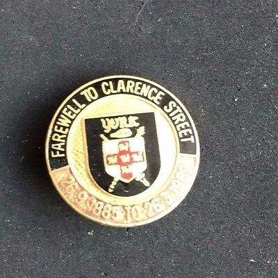 Rugby league Badge York Farewell to Clarence Street