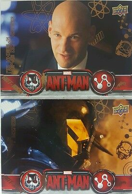 MARVELS  ANT-MAN Bronze Parallel card x 3 # 20 - 21 - 87    UPPERDECK  2015