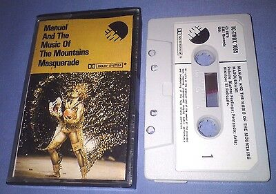 MANUEL & THE MUSIC OF THE MOUNTAINS MASQUERADE PAPER LABELS cassette album T3838