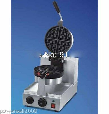 New Non-Stick Cooking Surface Electric Rotated Waffle Baker Maker Machine