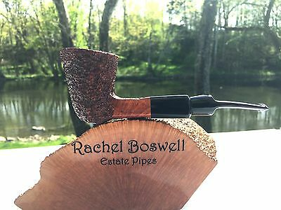 Unsmoked Mauro Armellini Rusticated Estate Pipe NEW - R. Boswell