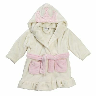 Baby Dressing Gown Princess Hood Age 18-24 Months