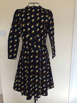 Vintage 1960's Mod Dress Size 10
