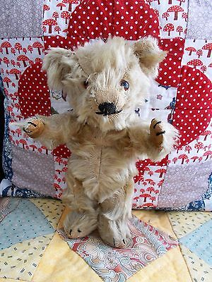"""""""Arthur"""" - Tiny Old Smiling 9"""" Chiltern in Vintage Clothing - SO CUTE!"""