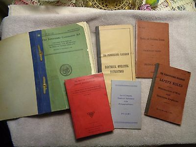 Assorted Prr Manuals And Booklets