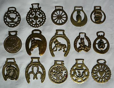 15 Vintage Horse Brasses Job Lot Collection Pineapple