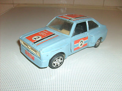 Unique Ford Escort Rs1800 Car Model Rally 1:24 Scale Tbilisi Rally Team
