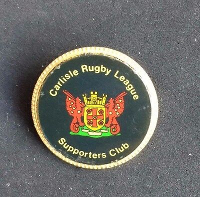 Rugby League Badge Carlisle Supporters Club