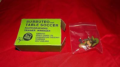 Vintage subbuteo photographers and trainers accessory in original box