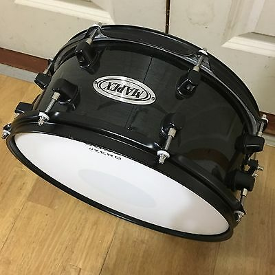 """Mapex MPX Black Lacquer Snare Drum 13"""" x 6"""" // Free Shipping"""