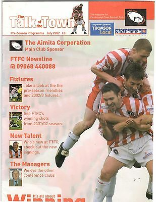 Farnborough 2002 - 2003 v Charlton Aldershot Orient & Portsmouth  friendly