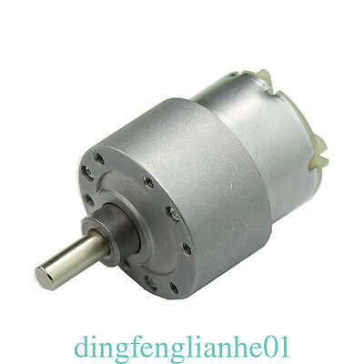 High Torque Gearbox Powerful motor 60RPM 30 N*cm 37MM 12V Electric Motor df01