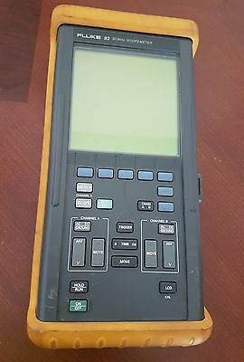 Fluke 93 50Mhz Scopemeter with Yellow Bumper Case