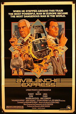Avalanche Express (1979) US One Sheet