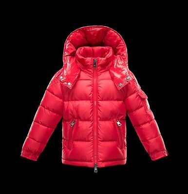 Moncler Children's Red Puffer Coat Jacket size 4/5