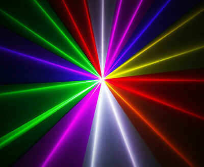 650mw 7 Colour RGB LASER LIGHT **Willi PRO UK** for dj disco lazor