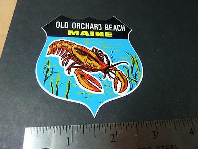 ORIGINAL 1960's-70's OLD ORCHARD BEACH MAINE STICKER