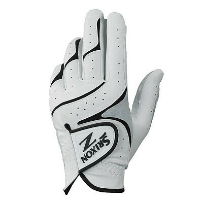 NEW 2017 Srixon Z All Weather 3-Pack White Men's Cadet Left Large Golf Glove