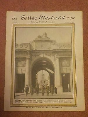 WW2. The War Illustrated Magazine October 1944. Vol 8 No.192