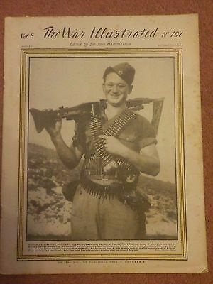 WW2. The War Illustrated Magazine October 1944. Vol 8 No.191