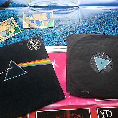 Pink Floyd - The Dark Side of the Moon solid blue 1st UK  A2/B2 Record LP vinyl