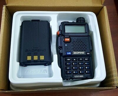 Baofeng UV-5R Two Way Radio New Original Dual Band Transceiver VHF-UHF Complete