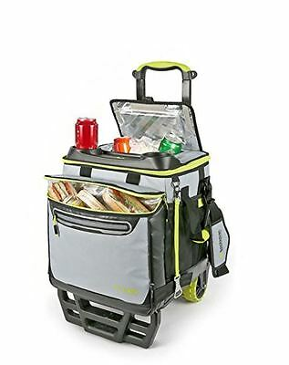 Titan 22.5 Litre 60 Can Rolling Cooler with All Terrain Cart