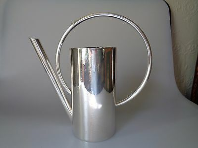 Hard To Find Christofle France Silverplate Watering Can Flower Names Garden