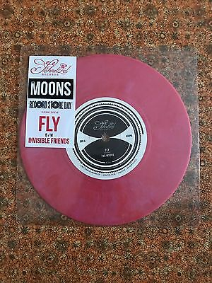 """The Moons - Fly / Invisible Friends Pink Vinyl 7"""" - RSD 2017 Mod, Paul Weller"""
