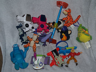 Assorted Happy Meal Toys - Monster  Tigger, Transformer, Furby, American Idol