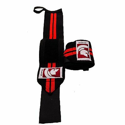 Spartan Pro Wrist Wraps - Wrist Brace And Hand Support Strap For Weight Training