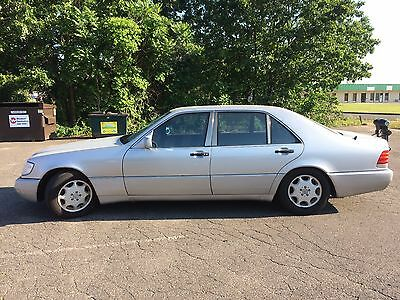 1994 Mercedes-Benz S-Class Silver 1994 Mercedes S420 for sale