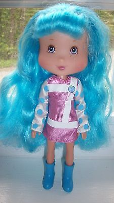 Strawberry Shortcake Candy Pops BLUEBERRY MUFFIN Doll 2007 Playmates nice! Toy