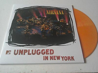 Nirvana - Unplugged In New York (Orange Vinyl)