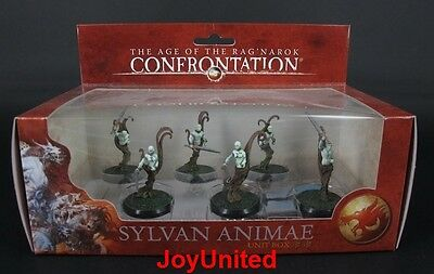 RACKHAM CONFRONTATION Sylvan Animae IMMORTAL DESTINY Unit Box Game Figure WFEL08