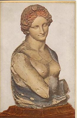 Germany:Leonardo Da Vinci,Bust,In 'BERLIN' Museum,Postcard,Unused.