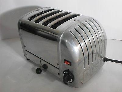 Dualit Stainless Steel Toaster 4 Bread Slice 4 BR/84