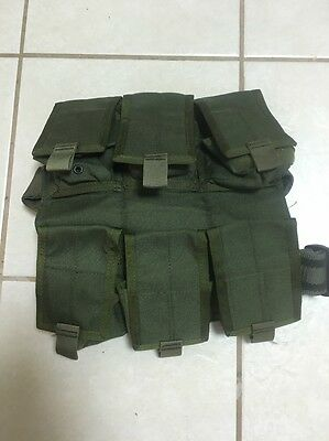 Eagle Industries  Rig OD Green LBT DELTA CAG NSW Six Pouches Backpack