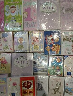 Job lot of greetings cards 4000 mixed cards