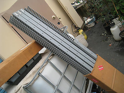 LOT of 17 Gray Panduit Style Wiring Duct 6' long pieces  PICK UP or LOCAL SHIP