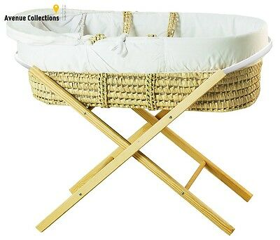 Moses Basket Opal Folding Stand Portable Baby Basket Secure Folding Stand New