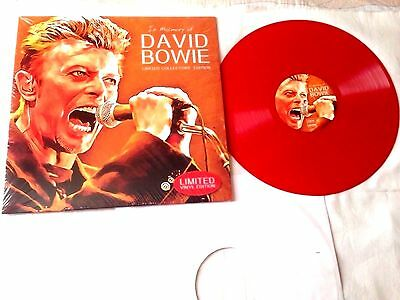 David Bowie In Memory Of David Bowie Lp Limited Edition Red Viny Lnew Unplay M!
