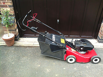 Harry Self Propelled Petrol Lawn Mower. Very good condition.
