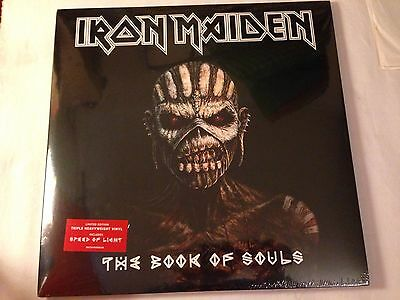 Iron Maiden The Book Of Souls 3Lp Set 2015 Parlophone New/sealed
