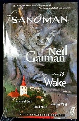 Vertigo DC Comics Neil Gaiman The Sandman THE WAKE Remastered Trade Paperback!