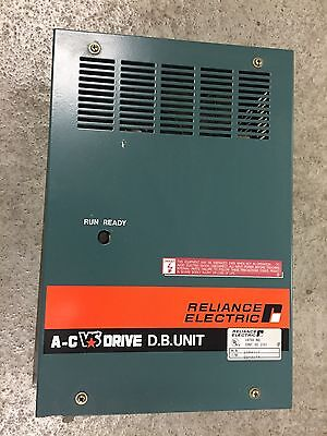 RELIANCE ELECTRIC A-C Variable Speed Drive Dynamic Brake Unit 2DB4010. Loc 46B