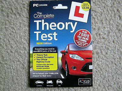The Complete Theory Test New Edition Pc Dvd-Rom 2014