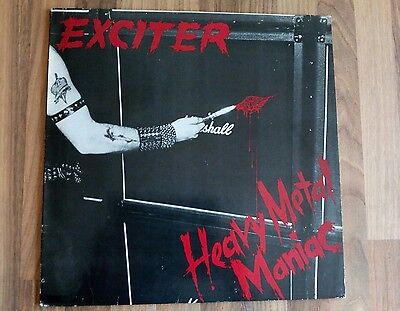 "Exciter Vinyl LP Heavy Metal Maniac NL 1986 Roadrunner VG/NM- ""rar"""