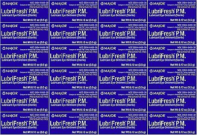 Lubrifresh PM Lubricant Eye Ointment Generic Refresh PM 3.5 g per Tube 24  PACK