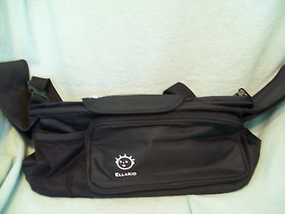 Stroller Organizer with Removable Shoulder Strap, Universal Fit, Cup Holder